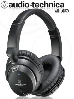 Słuchawki Wokółuszne Audio-Technica ATH-ANC9 z Redukcją Szumu