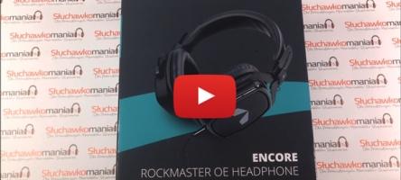 Unboxing słuchawek wokółusznych Encore Rockmaster OE