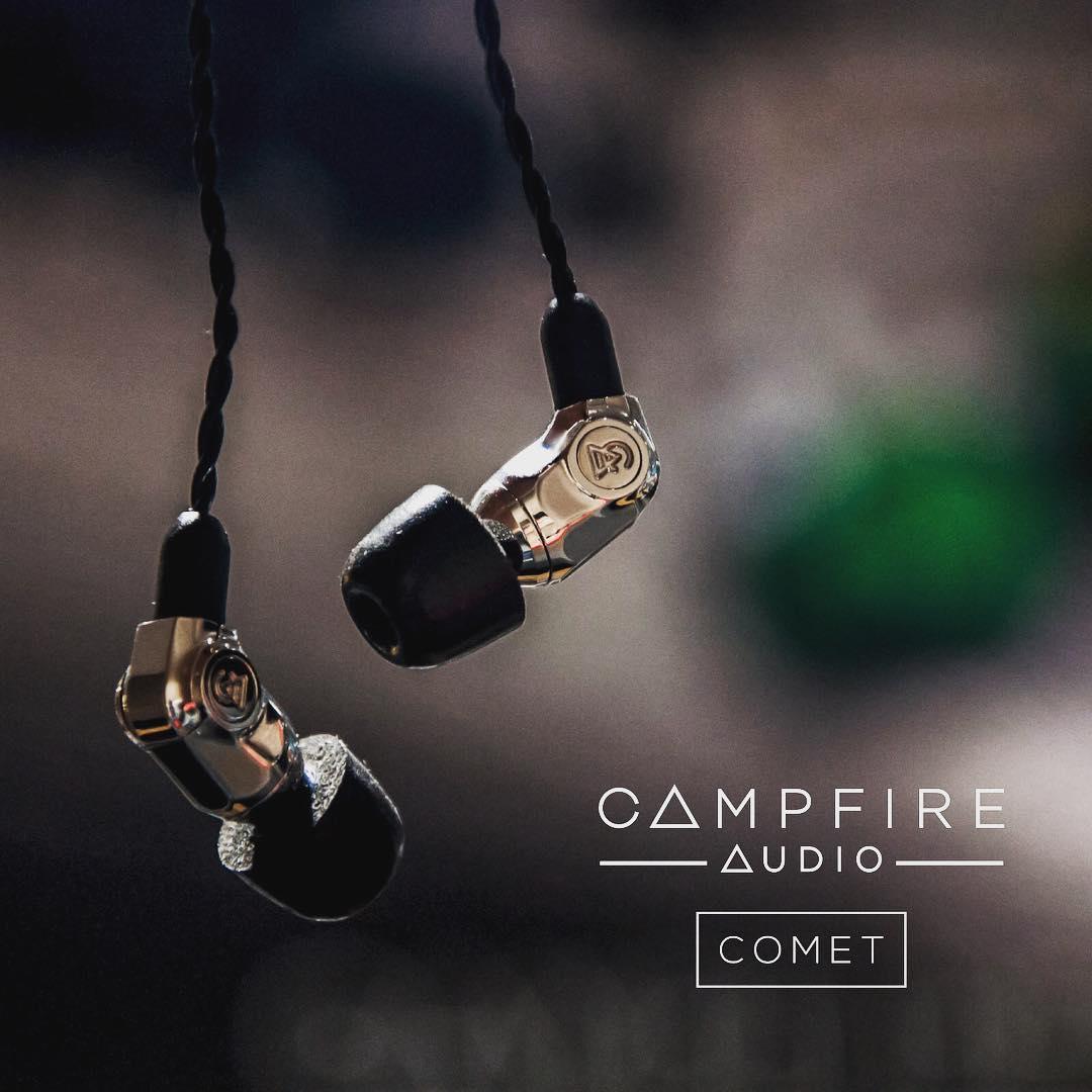 CAMPFIRE AUDIO – Wprowadza dwie nowesłuchawki – Atlas i Comet
