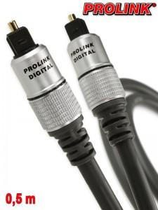 Prolink Exclusive kabel optyczny Toslink 0,5 m
