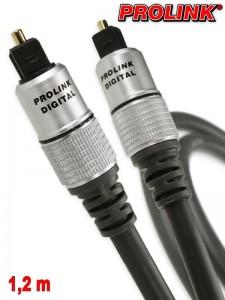 Prolink Exclusive kabel optyczny Toslink 1,2 m