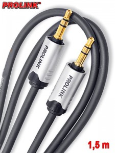Prolink Futura kabel Jack 3,5 mm - Jack 3,5 mm 1,5 m