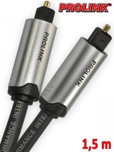 Prolink Futura kabel Toslink - Toslink 1,5 m