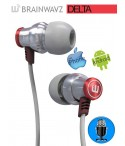 Słuchawki dokanałowe Brainwavz Delta z Mikrofonem + Comply