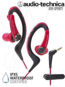 Audio-Technca ATH-Sport1 Red