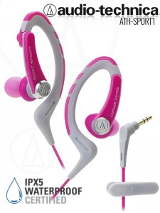 Audio-Technca ATH-Sport1 Pink