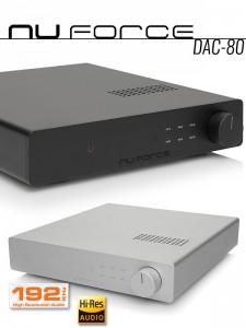 NuForce DAC-80 konwerter cyfrowo analogowy DAC