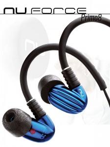 Słuchawki dokanałowe NuForce Primo8
