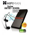 Odtwarzacz przenośny HiFiMan Zestaw HM700 32GB + RE400b