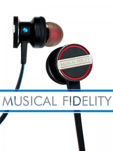 Musical Fidelity EB-33 Słuchawki dokanałowe z mikrofonem