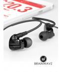 Słuchawki dokanałowe Brainwavz XF-200 dla Aktywnych z mikrofonem