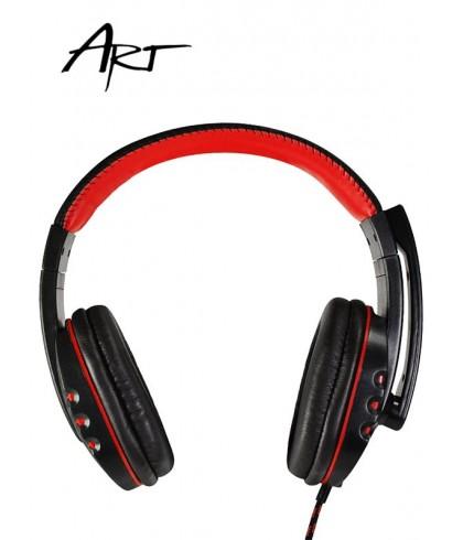 Słuchawki gamingowe ART Nemezis z mikrofonem