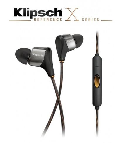 Słuchawki dokanałowe Klipsch XR8i z mikrofonem