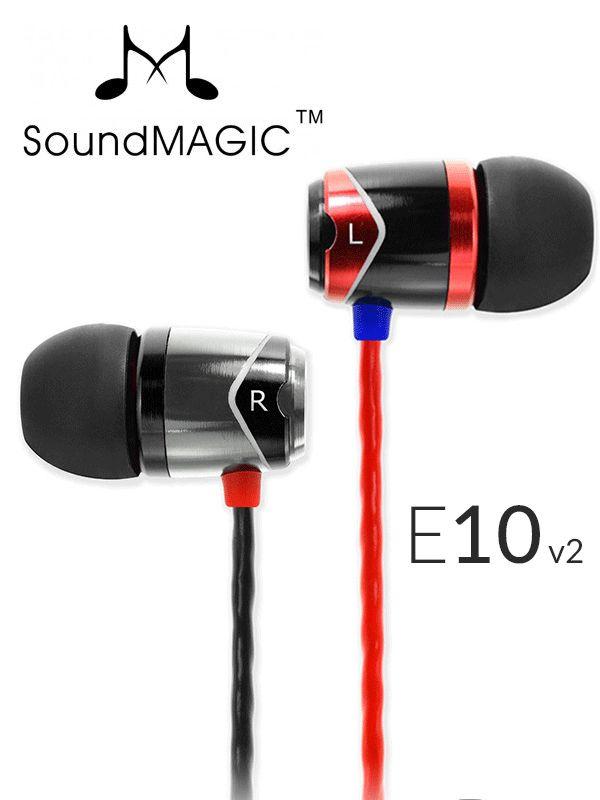 Słuchawki dokanałowe SoundMagic E10