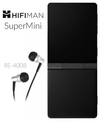 Odtwarzacz przenośny HiFiMAN SuperMini + słuchawki RE400b