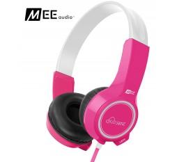 Słuchawki nauszne dla dzieci MEE Audio KidJamz 2 - Różowe