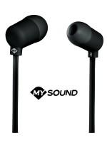 Słuchawki dokanałowe z mikrofonem MySound Speak Fluo