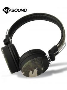 Słuchawki nauszne MySound Speak Denim z mikrofonem