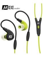 Słuchawki dokanałowe MEE Audio M7P z mikrofonem - Zielone