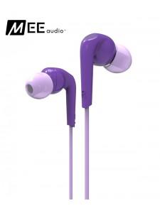 Słuchawki dokanałowe MEE Audio RX18 - Fioletowe