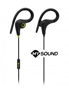 Słuchawki douszne z mikrofonem MySound Speak FIT