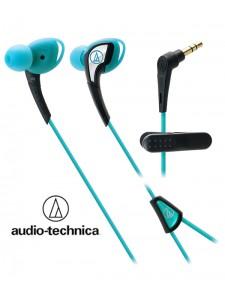 Słuchawki douszne, wodoodporne Audio-Technica ATH-SPORT2 - Niebieskie