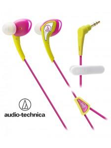 Słuchawki douszne, wodoodporne Audio-Technica ATH-SPORT2 - Różowe