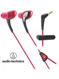 Słuchawki douszne, wodoodporne Audio-Technica ATH-SPORT2 - Czerwone