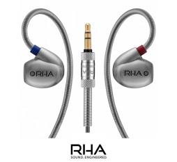 Słuchawki dokanałowe RHA Audio T10 z wymiennymi filtrami