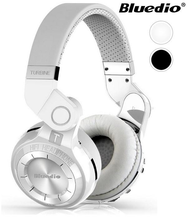 Słuchawki nauszne BLUETOOTH BLUEDIO T2+ z mikrofonem