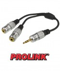 Rozgałęziacz mini Jack 3.5 mm stereo Prolink Exclusive TCV2455