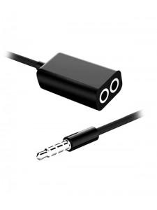 Rozdzielacz słuchawek 1 - 2x mini jack 3.5mm Audio