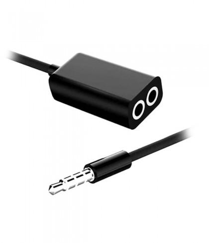 Rozdzielacz słuchawek 1 2x mini jack 3.5mm Audio