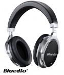 Słuchawki nauszne BLUETOOTH BLUEDIO F2 z mikrofonem - czarne