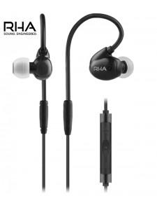 Słuchawki dokanałowe RHA Audio T20i Black z wymiennymi filtrami