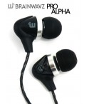 Słuchawki dokanałowe Brainwavz ProAlpha + pianki Comply + etui