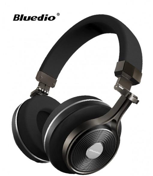 Słuchawki nauszne BLUETOOTH BLUEDIO T3+ z mikrofonem