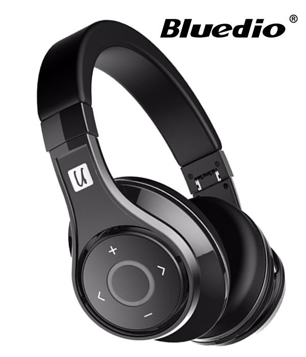 Słuchawki nauszne BLUETOOTH BLUEDIO UFO U z mikrofonem