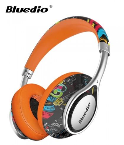 Słuchawki nauszne BLUETOOTH BLUEDIO A2 z mikrofonem