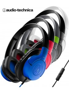 Słuchawki nauszne Audio-Technica ATH-AX-1 z mikrofonem