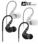 MEE Audio M6 2-gen - dokanałowe słuchawki sportowe IPX5