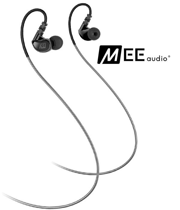 MEE Audio M6 G2 - dokanałowe słuchawki sportowe IPX5