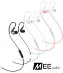 MEE Audio X1 - dokanałowe słuchawki sportowe IPX5