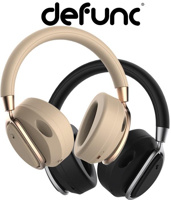 DeFunc Mute – Bezprzewodowe słuchawki nauszne z mikrofonem i ANC Sluchawkomania.pl