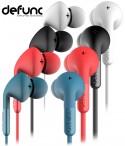 DeFunc Plus Music –  Słuchawki douszne z mikrofonem