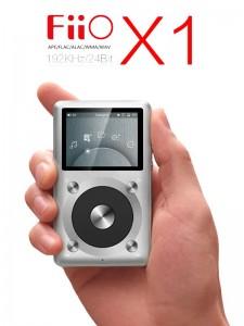 FiiO X1 - Srebrny