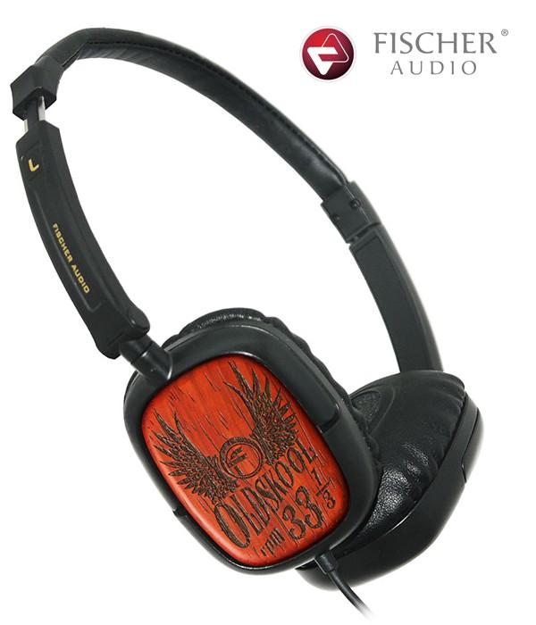 Fischer Audio Oldskool 33 1/3 – słuchawki nauszne