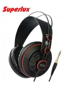 Superlux HD681 – Półotwarte słuchawki nauszne