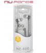 NuForce NE600M - czarne