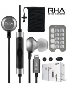 RHA MA650i Lightning – słuchawki dokanałowe z mikrofonem